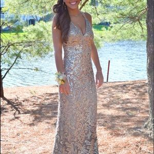 A beautiful jovani prom dress